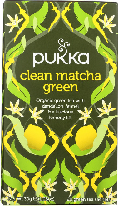 Organic Herbal Tea Clean Matcha Green