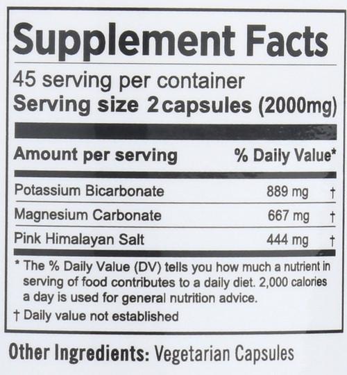 Sport Salts  90 Vegetarian Capsules 100.8 G