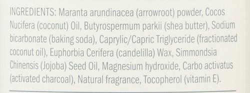 Deodorant Stick Charcoal + Magnesium 3.25oz 92 G