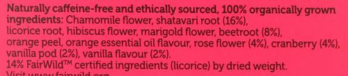 Organic Herbal Tea Womankind 20 Each 30 G