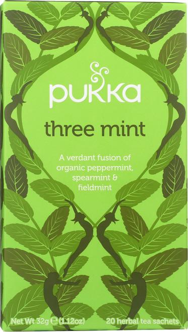 Organic Herbal Tea Three Mint