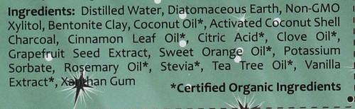 Toothpaste-Cinnamon Clove       4oz 113 G
