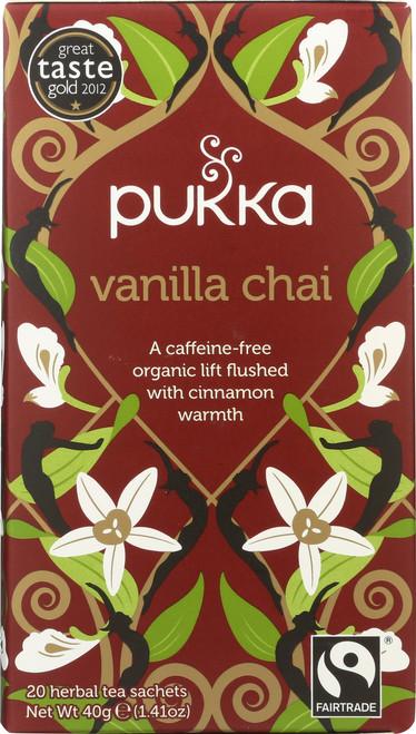 Organic Herbal Tea Vanilla Chai