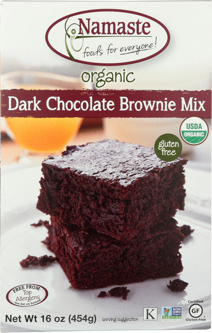 Baking Mix Organic Dark Chocolate Brownie Mix