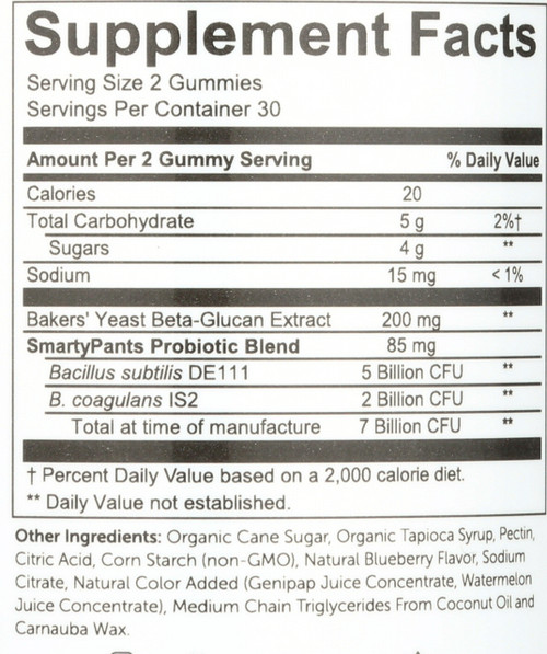 Adult Probiotic Complete Blueberry Blueberry 60 Gummies
