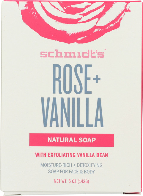 Bar Soap Rose + Vanilla