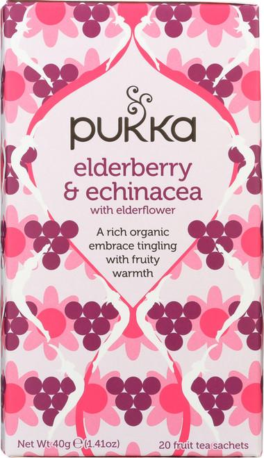 Organic Herbal Tea Elderberry & Echinacea