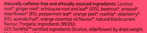 Organic Herbal Tea Elderberry & Echinacea 40 G 1.41oz