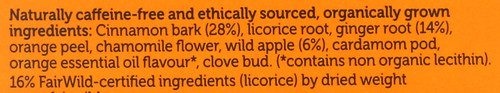 Organic Herbal Tea Wild Apple & Cinnamon 20 Sachets 40 G