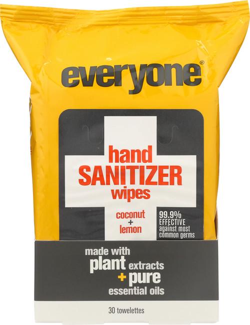 Everyone® Hand Sanitizer Wipes Coconut Lemon Coconut Lemon