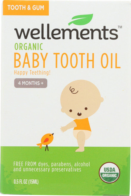 Baby Tooth Oil Organic