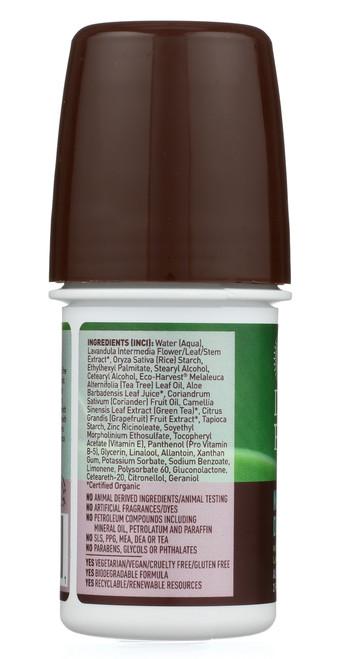 Deodorant-Roll On-Tea Tree       2 Fl oz 59.1 Ml