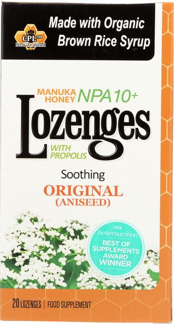 Manuka Honey Lozenges Soothing Original (Aniseed)