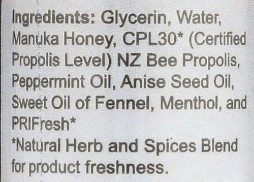 Propolis Oral Spray Manuka Honey Extra Strength 1 Fl oz