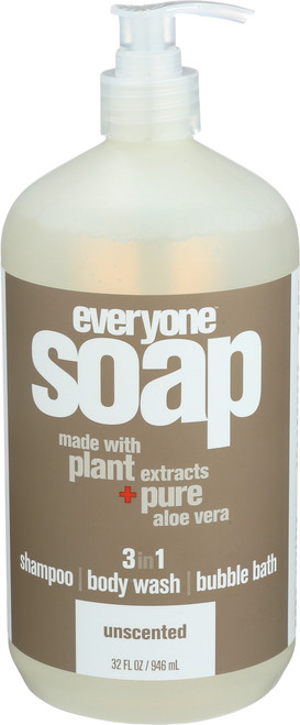 Everyone Soap Unscented Unscented