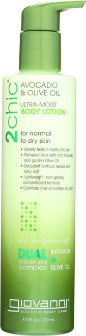 Body Lotion 2Chic Ultra-Moist Body Lotion With Avocado & Olive Oil