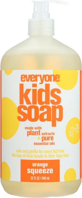 Everyone Kids Soap Orange Squeeze Orange Squeeze