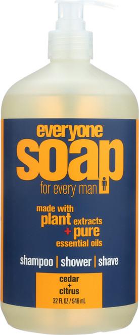 Everyone Men'S Soap Cedar Citrus Cedar Citrus