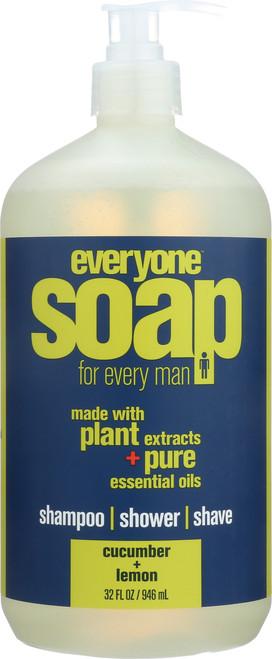 Everyone Men'S Soap Cucumber Lemon Cucumber Lemon