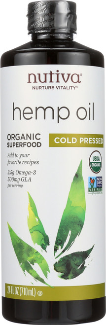 Hemp Oil Cold Pressed