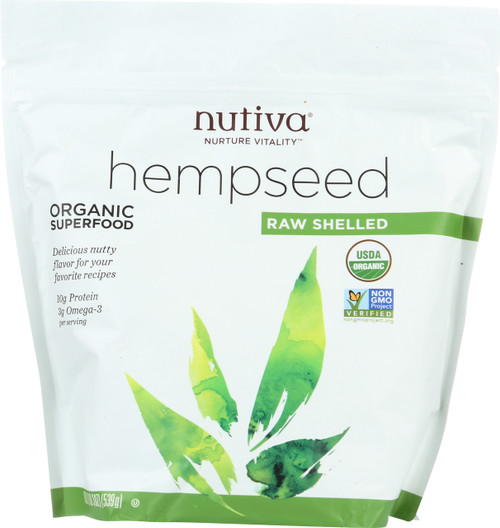 Hempseed Raw Shelled