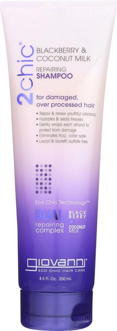 Shampoo 2Chic Repairing  Shampoo With Blackberry & Coconut Milk