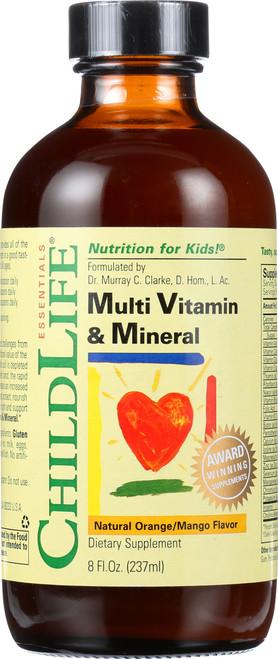 Multi Vitamin & Mineral Natural Orange/Mango
