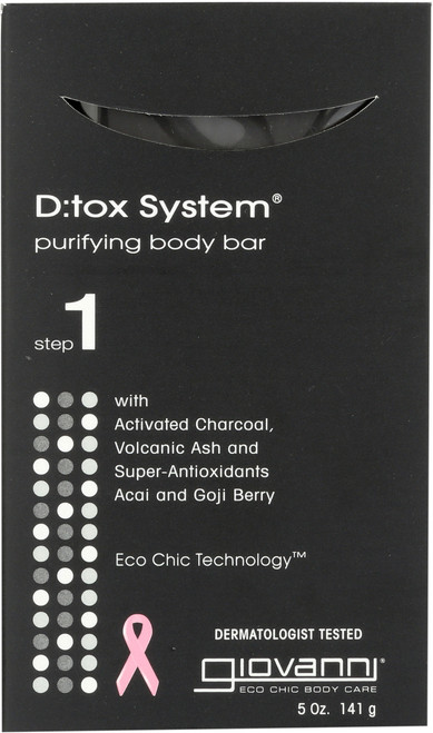 Bar Soap D:Tox System Purifying Body Bar (Step 1)