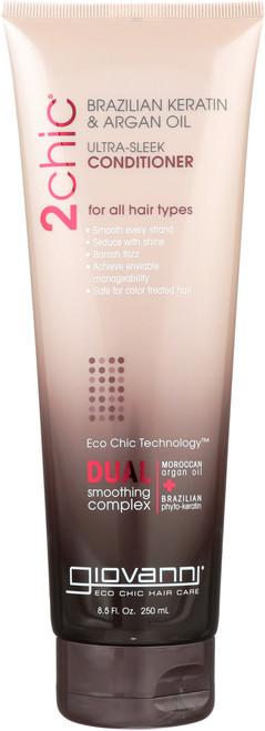 Conditioner 2Chic Ultra-Sleek Conditioner With Brazilian Keratin & Argan Oil