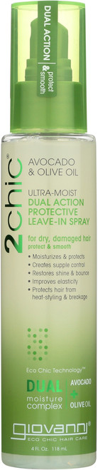 Leave-In Treatment 2Chic Ultra-Moist Dual Action Protective Spray With Avocado & Olive Oil