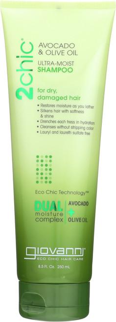 Shampoo 2Chic Ultra-Moist Shampoo With Avocado & Olive Oil
