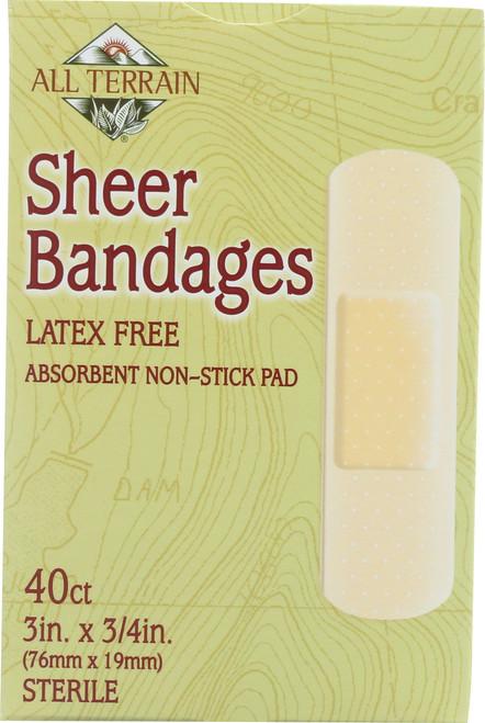Sheer Bandage 3In. X 3/4In.