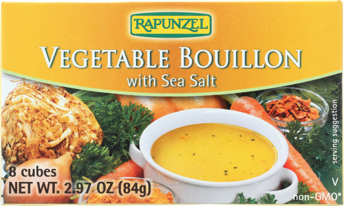 Soups & Bouillon Vegetable Bouillon With Sea Salt