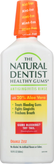 Healthy Gums Antigingivitis Rinse Orange Zest