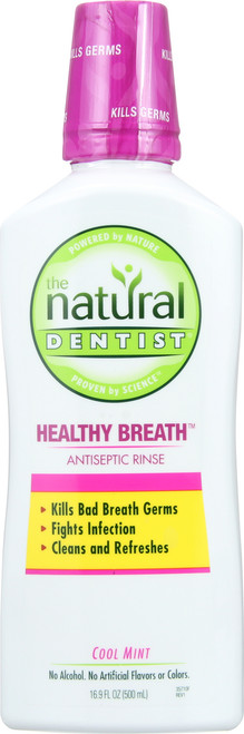 Healthy Breath Antiseptic Rinse Cool Mint