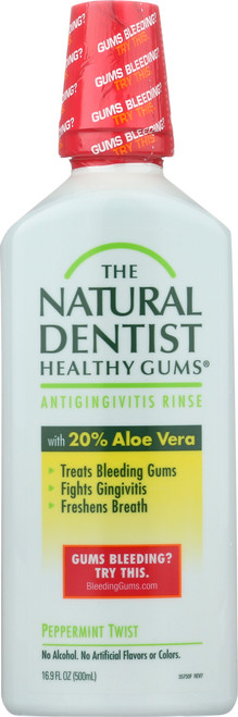 Healthy Gums Antigingivitis Rinse Peppermint Twist