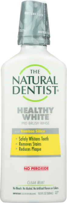 Healthy White Pre-Brush Rinse Clean Mint