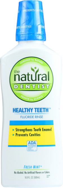Healthy Teeth Fluoride Rinse Fresh Mint