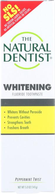 Whitening Fluoride Toothpaste Peppermint Twist