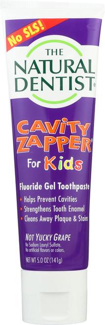 Cavity Zapper® Fluoride Gel Toothpaste Not Yucky Grape