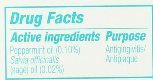 Fluoride-Free Toothpaste Peppermint Sage 5oz 141 G