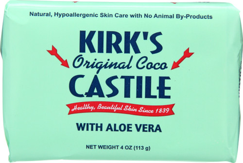 Castile Soap Bar Original Coco With Aloe Vera