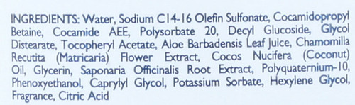 Castile Body Wash Original Coco Classic Clean 16 Fluid Ounce 473 Ml