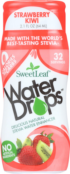 Water Drops Strawberry Kiwi