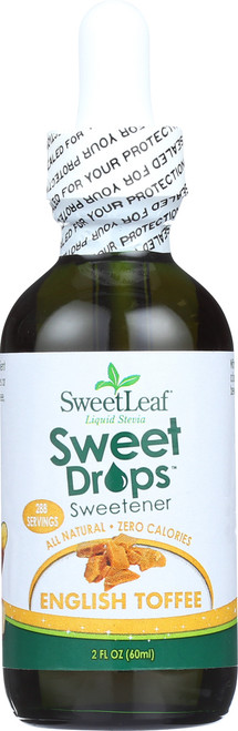 Sweet Drops English Toffee Liquid Stevia