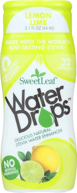 Water Drops Lemon Lime