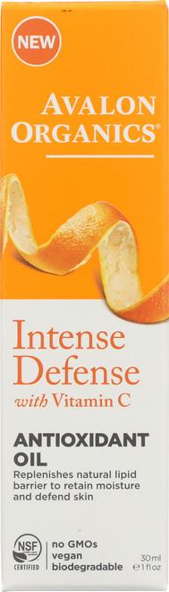 Intense Defense Anti Oil Vit C Antiox Facial Oil 1Oz