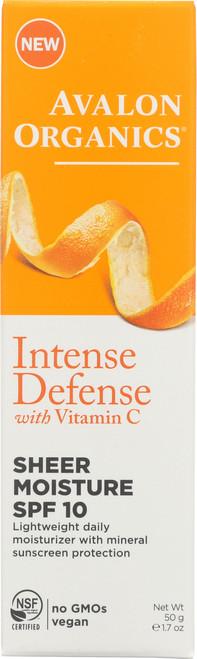 Intense Defense Moisture Vit C Shr Moist Spf10 1.75Oz