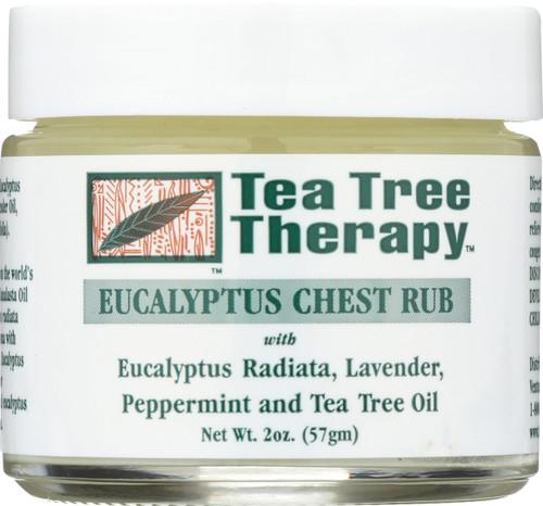 Eucalyptus Chest Rub With Eucalyptus Radiata, Lavender, Peppermint And Tea Tree Oil