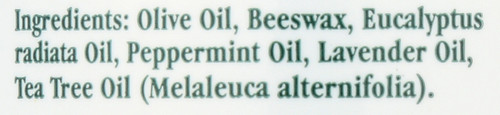Eucalyptus Chest Rub With Eucalyptus Radiata, Lavender, Peppermint And Tea Tree Oil 2oz 57 Gm